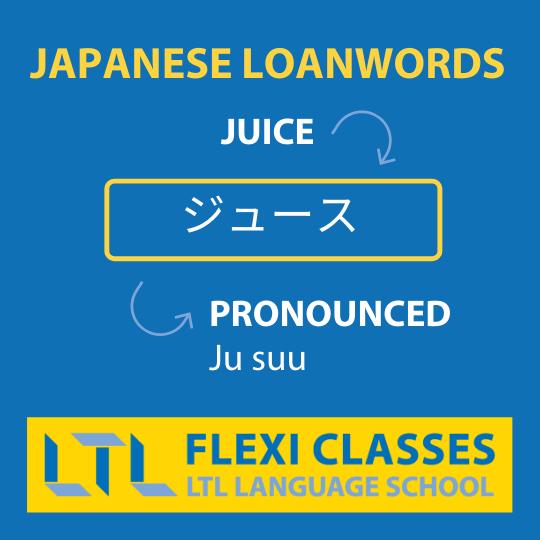 Learn Japanese Loanwords