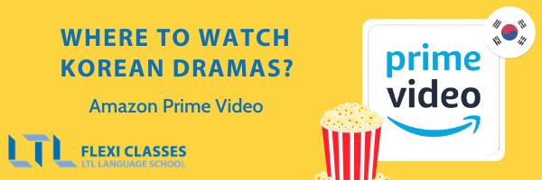 Korean streaming platforms - Amazon Prime