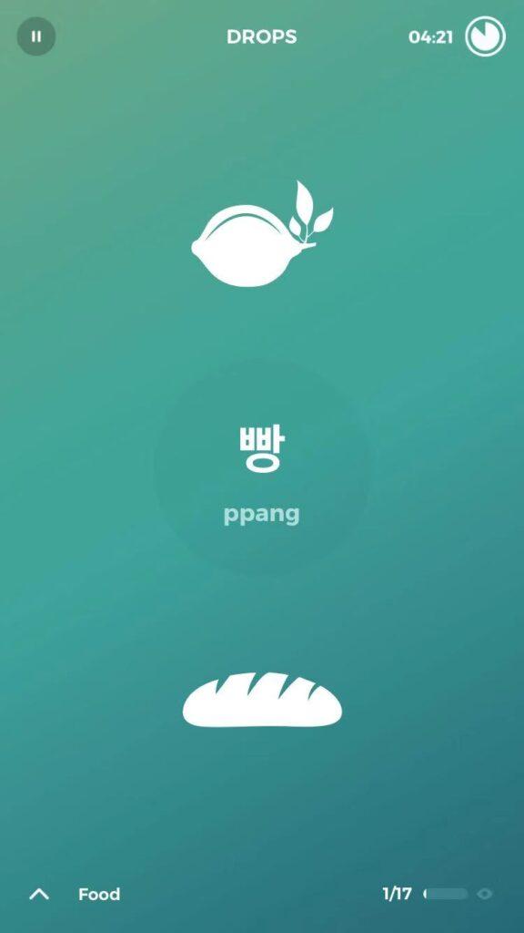 Best Apps to Learn Korean - Drops