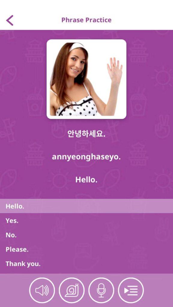 Best apps to learn Korean - uTalk