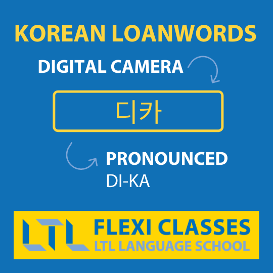 English Words in Korean