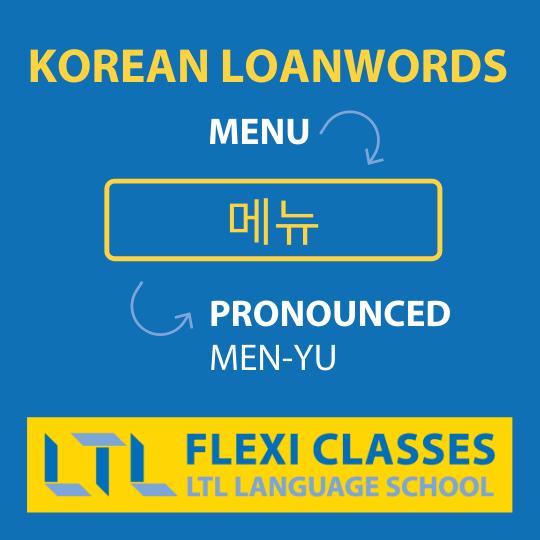 Korean Loanwords