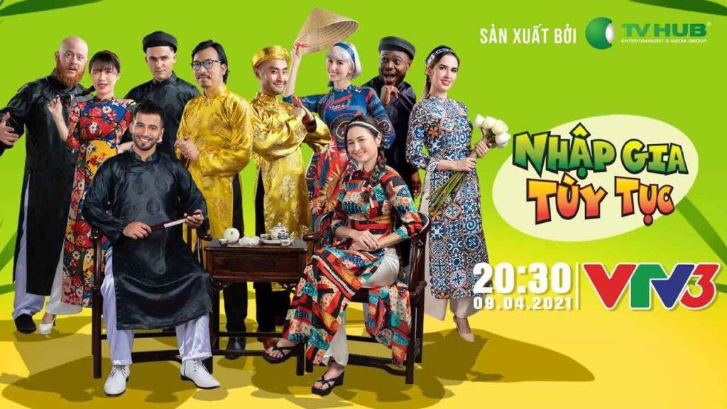 VIetnamese TV Show - Nhập Gia Tùy Tục