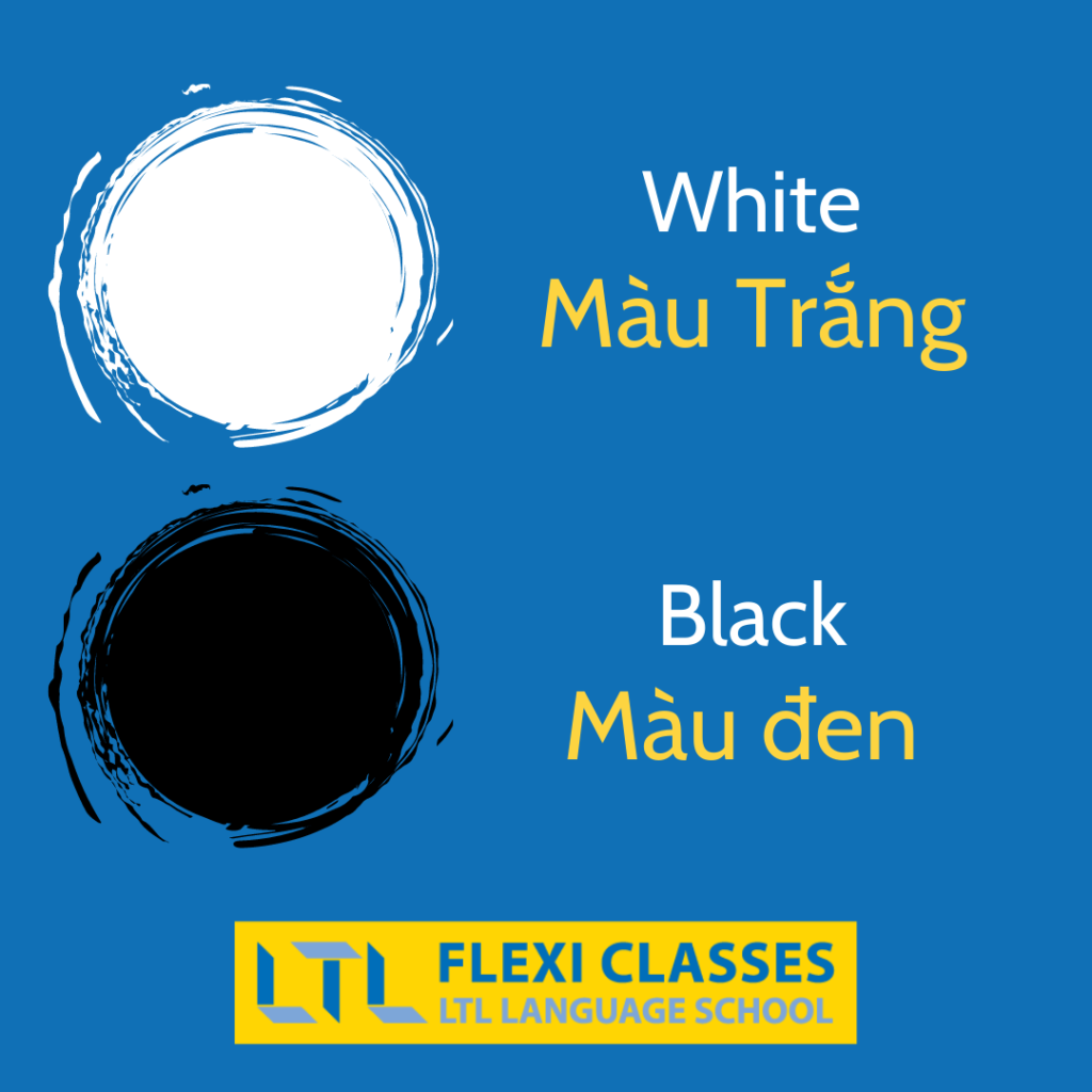 Vietnamese Colors - Black & White