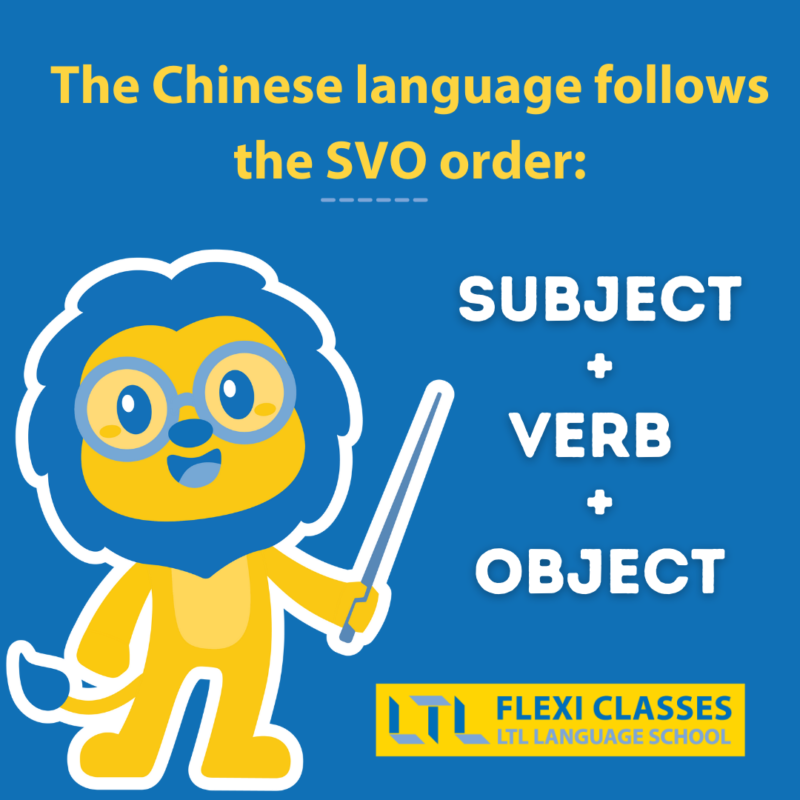Chinese Sentence Structure