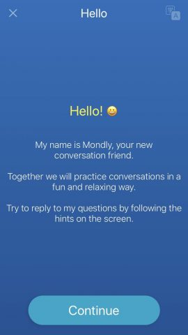 Mondly Review - Chatbot