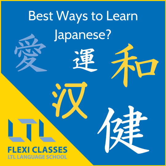 Best Ways to Learn Japanese