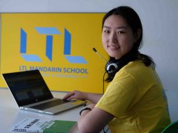 Online Chinese Courses with LTL